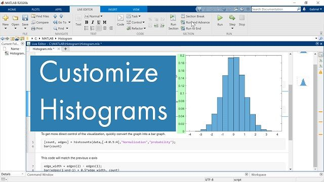 Learn how to leverage simple MATLAB functions to customize the appearance of a histogram.